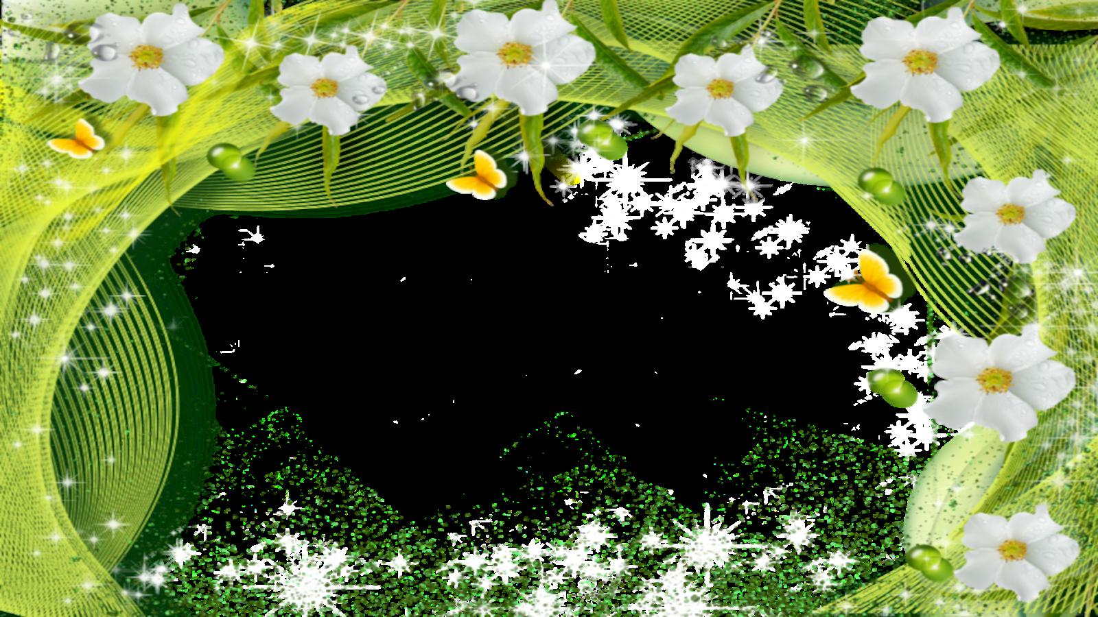 Moldura Primavera 4 png