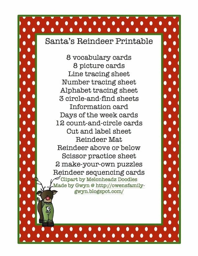 Names Of Santas Reindeer | animalgals