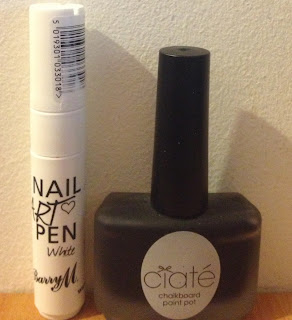 Ciate Chalkboard Paint Pot & Barry M White Nail Art Pen