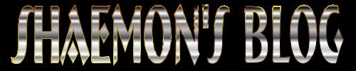 Shaemon's Blog