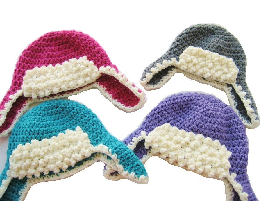 Crochet Dreamz: Aviator Hat Crochet Pattern, Newborn Baby ...