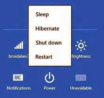 """Bật lại tính năng """"ngủ đông"""" trên Windows 8.1"""
