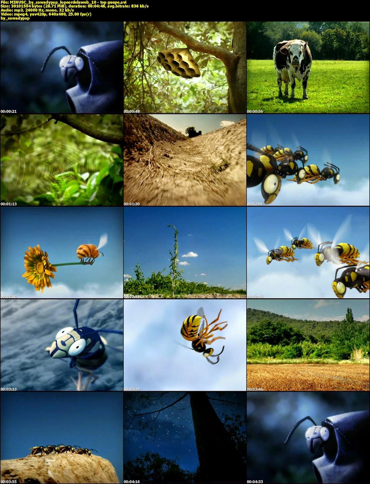 Minuscule [2006] [DVDRip] [Sin Dialogo]