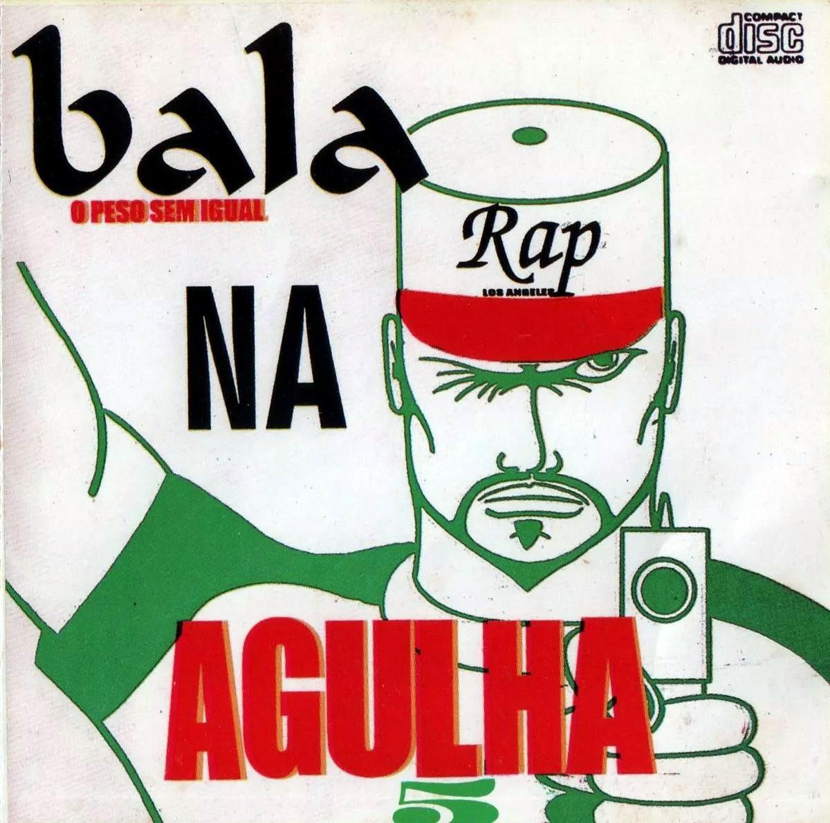 Bala Na Agulha Volume 5  1998 - Raridade