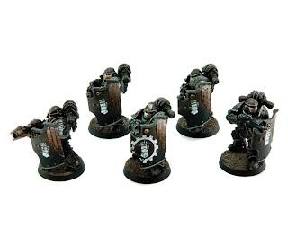 Siege Breacher Horus MkIII Legion Squad