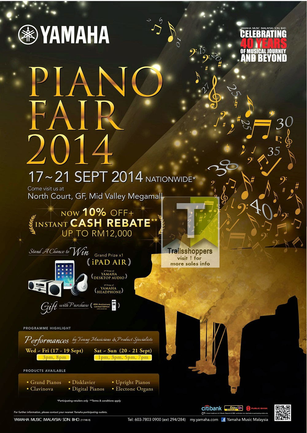 Yamaha Piano Fair Malaysia Kuala Lumpur