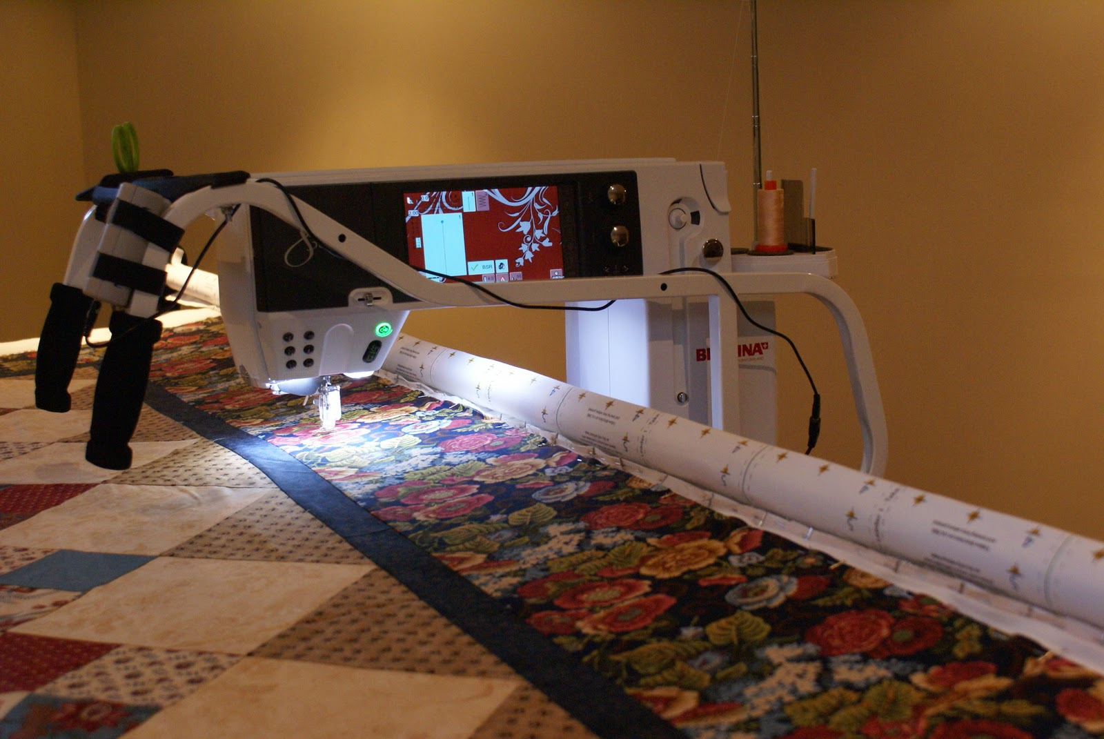 The Saturday Quilter Bernina Quilt Frame