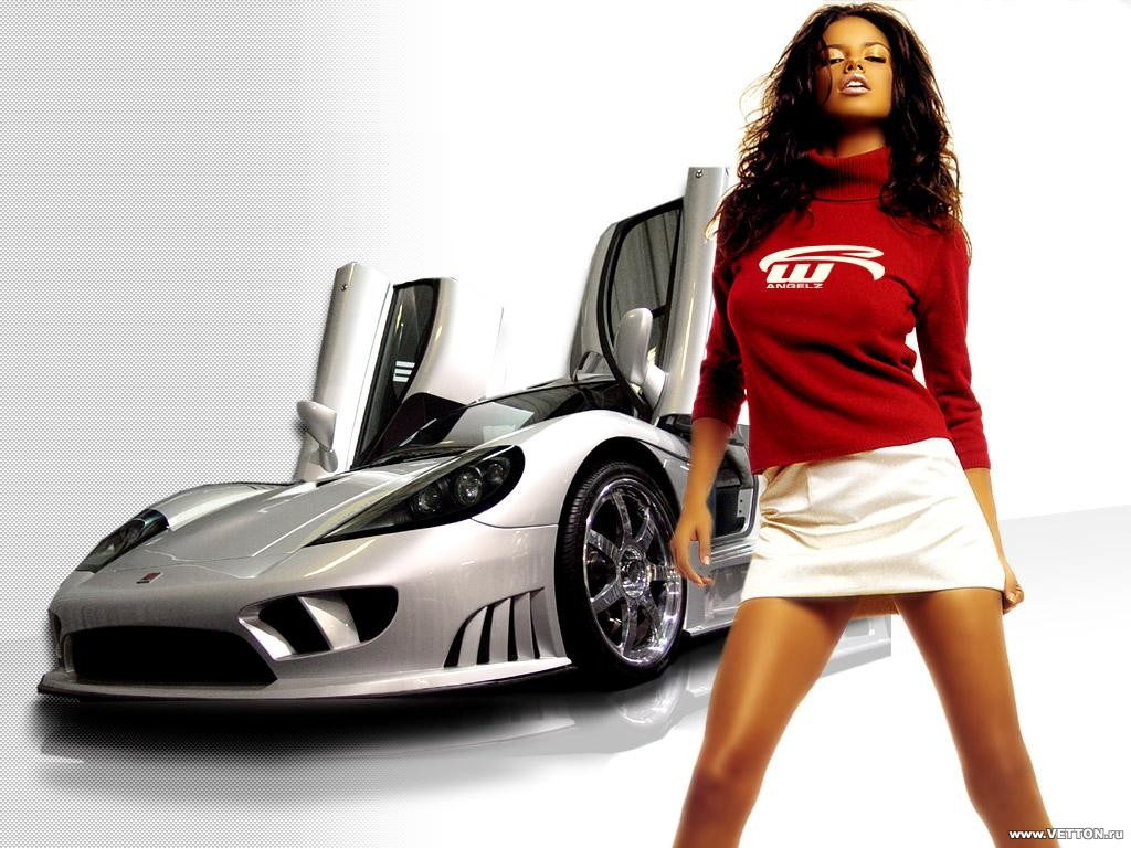 Girls and cars pics