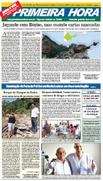JORNAL PRIMEIRA HORA /CIDADE DE BÚZIOS/RJ/BR