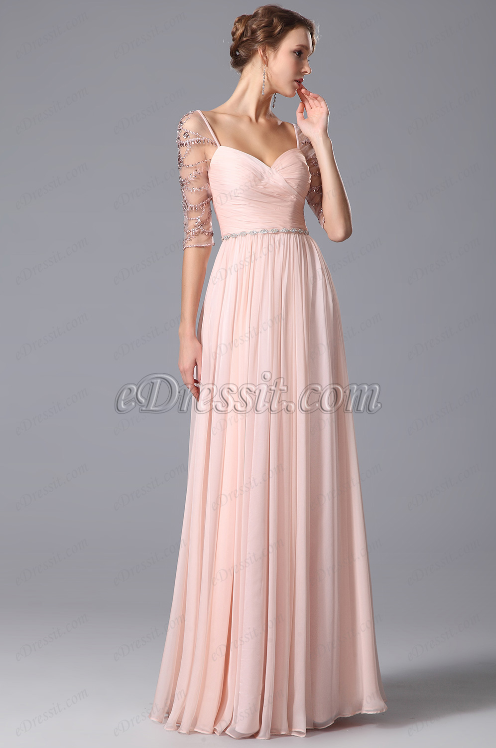 The Best Ways to Match a Pink Prom Dress - Simple Elegance