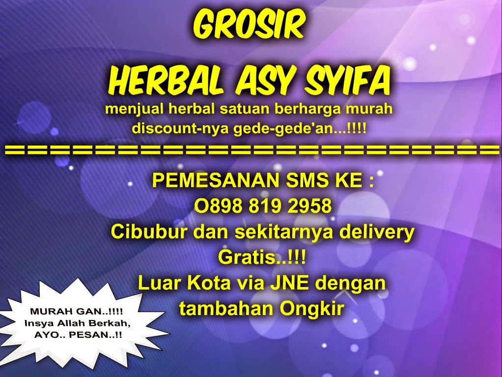 GROSIR HERBAL ASY SYIFA