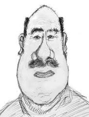 Caricature d'André-Pierre par  Boris