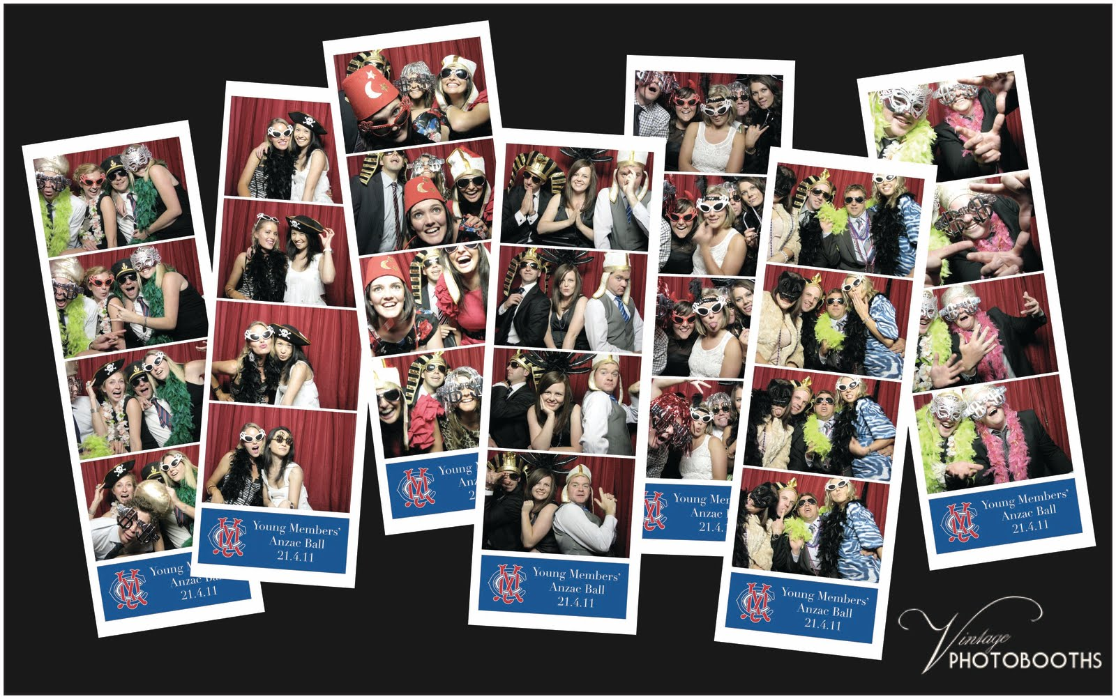 Vintage photobooths mcc young members anzac ball a fabulous night was had by all the mcc young members for the annual anzac ball in the members dining room which has a great view over the g the queue for dzzzfo