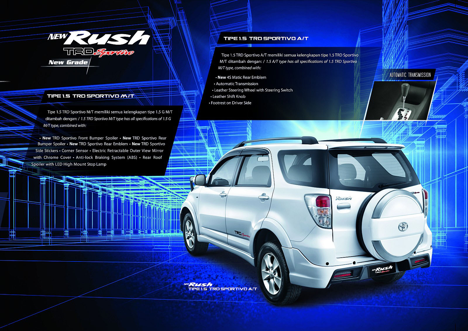 Brosur New Rush 2013