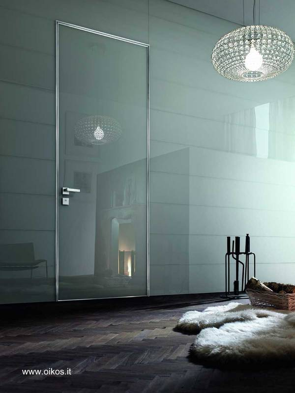 Arquitectura de casas puertas modernas italianas para for Modelos de puertas para interiores