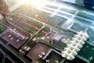 Maket Bandara Internasional Kertajati, Jawa Barat. ZonaAero