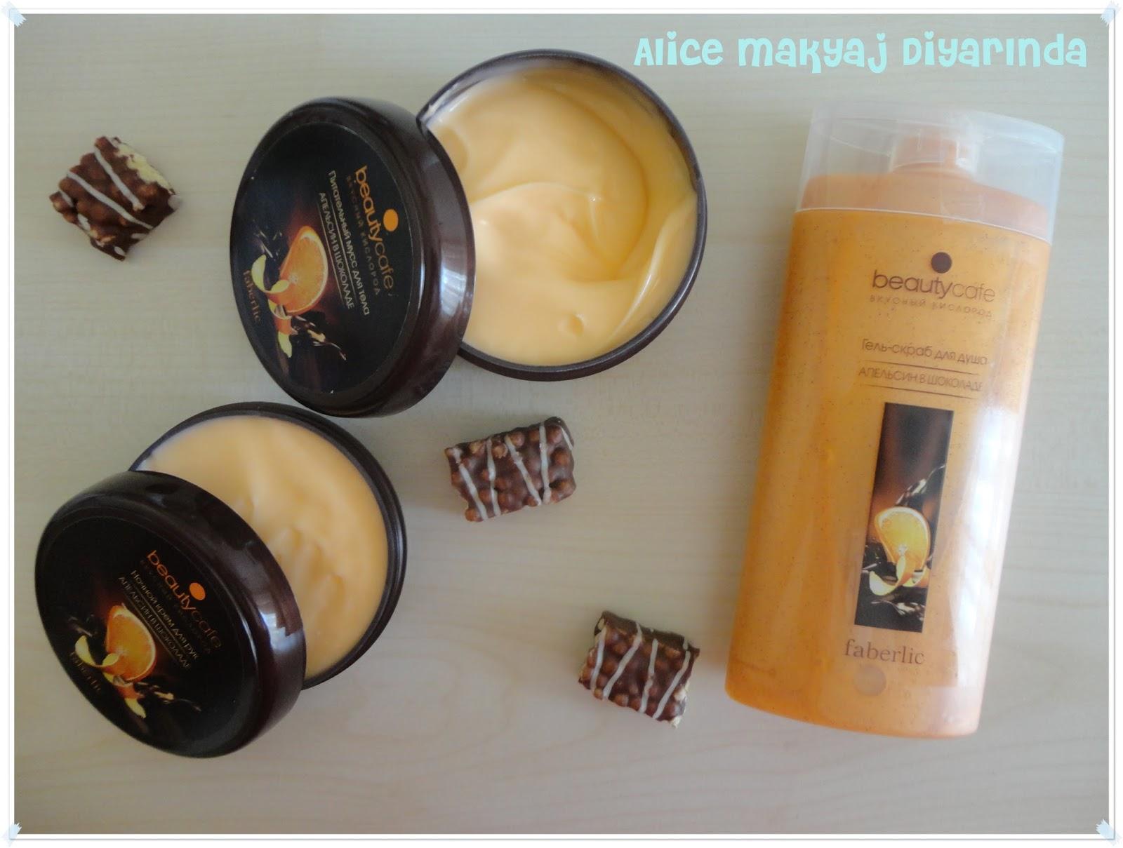 Faberlic Beauty Cafe Portakal ve Çikolatalı