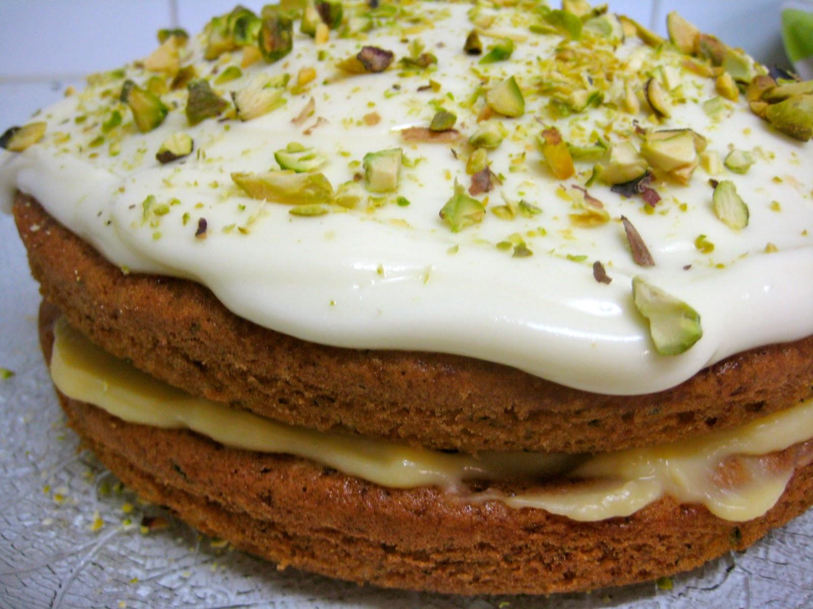 Courgette Lemon Curd Cake Recipe Uk