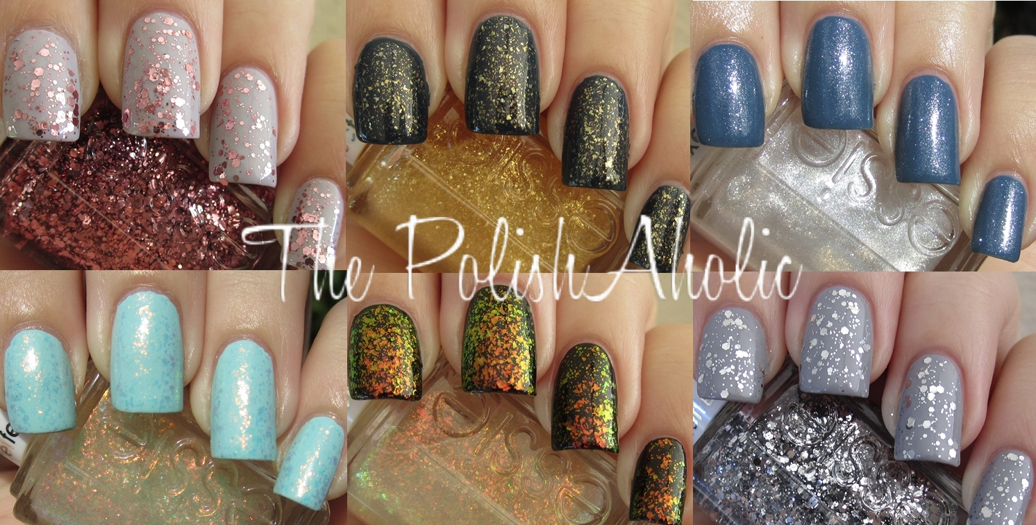 The PolishAholic: Essie Holiday 2011 Luxeffects Collection Swatches!