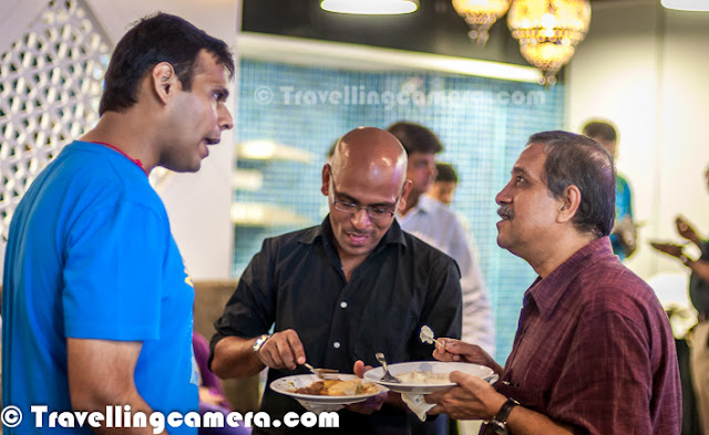 I think I need not to explain about what EXPEDIA is, as most of the readers here are avid travelers. Apart from from a Traveler, I am also a Software Professional and very much excited about Engineering center of Expedia in India. Last night, I was there at Launch party of Expedia and here are some of the photographs from the same. Let's checkout this Photo Journey and know more...Whenever it comes to Hotel Bookings, various Flights, interesting Travel Deals, well-researched Holiday Packages or Weekend Gateways; Expedia is one of the popular names which comes in mind...Above is a photographs from yesterday's party at Expedia office in Gurgaon. Lara Dutta was invited for official launch of their new office in Cyber City. Different performances were organized from different parts of the world, although event company was extremely inefficient in running all these shows smoothly. It seemed that all the performances were only for Lara Dutta and Media People :)Expedia has got a really cool office in Gurgaon DLF Cyber-City... Above photograph is shot inside new office of Expedia in India. This was shot around one of the desks, where folks were enjoying their drinks on official launch of new workspace in Gurgaon. Expedia Gurgaon office is located on top-most floor of a 22 floor building(5C, DLF Cyber City, Gurgaon). Sangita Passey, Shantanu Mishra, Arvind Passey, Shyam and her cousin at Official Launch of new office in Gurgaon, INDIA. Here is a photograph from new Expedia office in Gurgaon, INDIA. I am not sure that how many travelers know about the fact that Expedia was started by Microsoft and later spun off as a multi-billion dollar company because it was 'no longer about software intensive technology' and they were 'concerned that they would not do their best at this.'Expedia is an Internet based travel website, in fact group of websites, based in the United States of India with localized websites for more than 20 countries  including Australia, Austria, Belgium, Canada, Denmark, France, Germany, India, Ireland, Italy, Japan, South Korea, Malaysia, Mexico, Netherlands, New Zealand, Norway, Philippines, Singapore, Spain, Sweden, UK, US... Various parts of the office are known from different country names, which is an interesting idea !Expedia does bookings for airline tickets, hotel reservations, car rentals, cruises, vacation packages and various attractions and services via the World Wide Web and telephone travel agents. This new development center will take care of most of the back-end work for various Expedia Websites.It was wonderful party at Expedia with performers from various parts of the world, including Indian faces !Now Indian travelers can proudly say that many of the technological wows on Expedia.com was researched by Indian Brains... Looking forward to Expedia expansions in India and such more for Indian Travelers, specifically.One of the performer at Expedia Launch Party posing for my Travelling-Camera...Lara Dutta was there to officially launch Expedia Office, but hardly anybody could see her as all media folks were surrounding her. I could manage to click this one while she was enjoying one of the performances...Food was amazing great at Expedia Party and all of us had great time interacting with Shantanu there... Shantanu, Shyam and Arvind @ Expdia Development Center, Gurgaon, INDIA