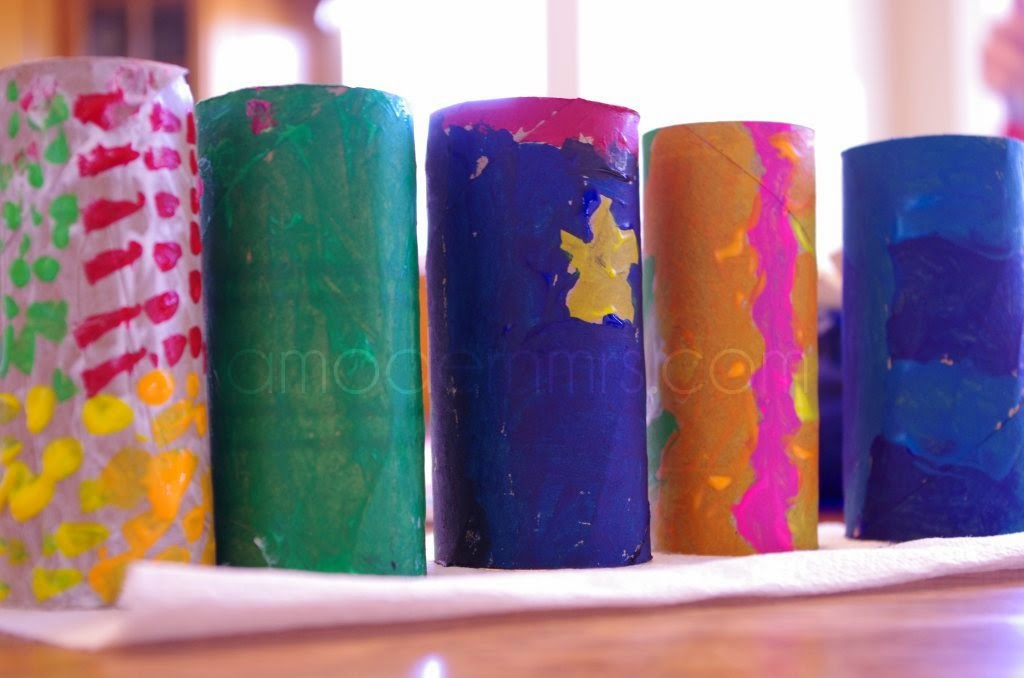 Toilet Paper Roll Monsters Craft for Kids — a Modern Mrs.