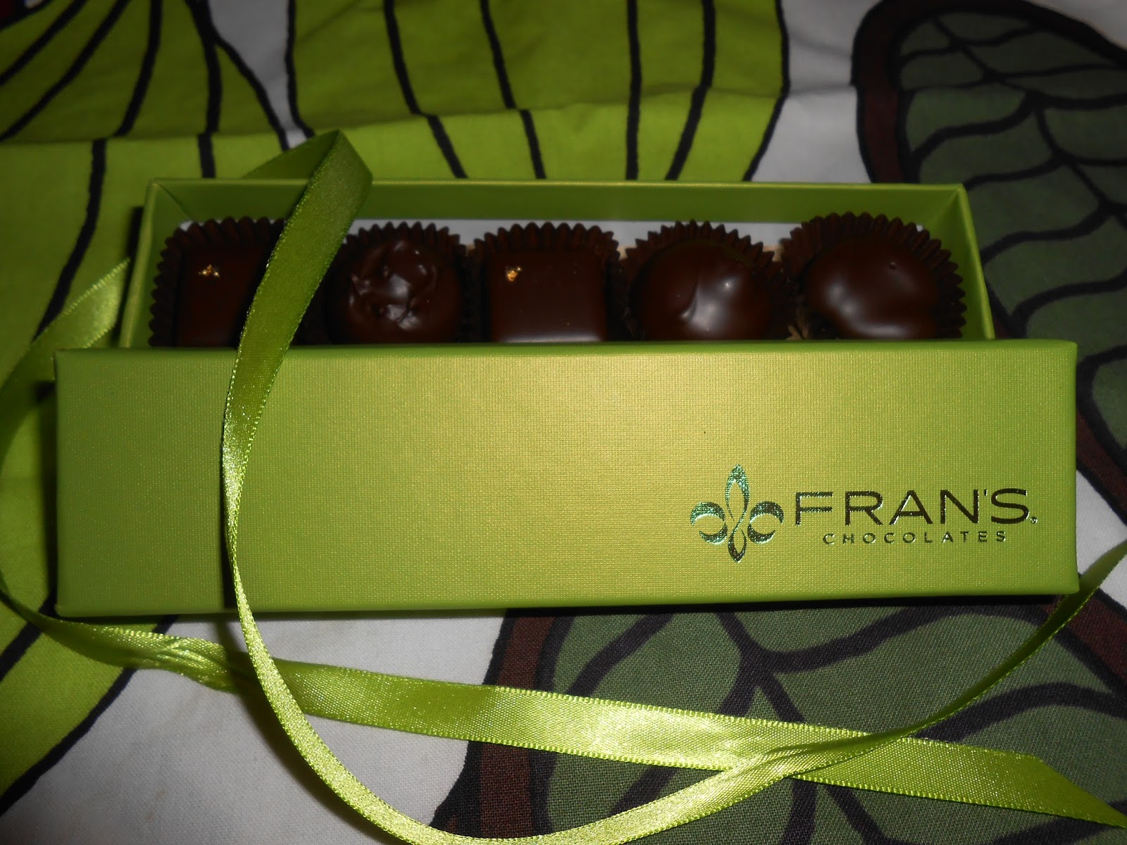 Fran's Chocolates disappointment - Seattle, USA | Chocolate Speak
