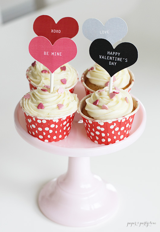Valentines Day Cupcakes for Two (or four)