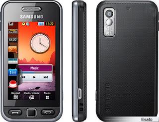 Samsung Tocco Lite S5230, memory card sampai dengan 16 GB