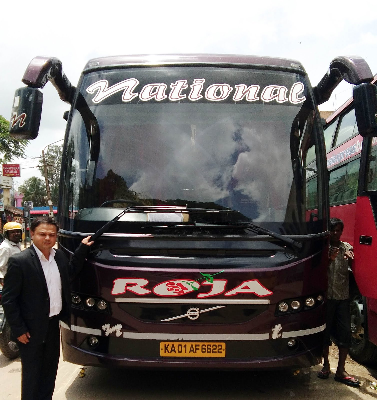 NATIONAL VOLVO ROJA