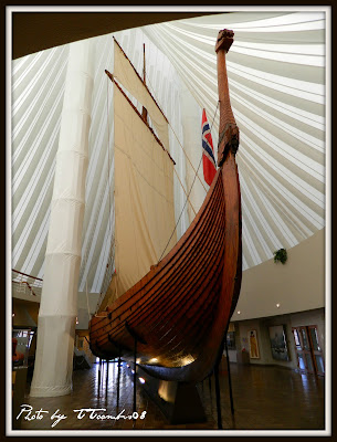 vikings, viking ship, fargo, north dakota, photography, blog hop