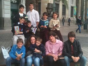Miguel, Julián, José María, Miguel, Alvaro, Isidro, Alicia, Mateo, Diego y Salvador