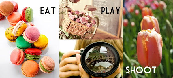 Eat. Play. Shoot