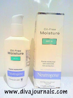 Neutrogena Oil Free Moisturiser Review