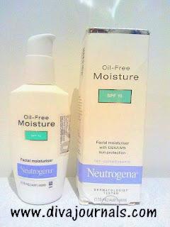 Neutrogena Oil Free Moisturiser Review