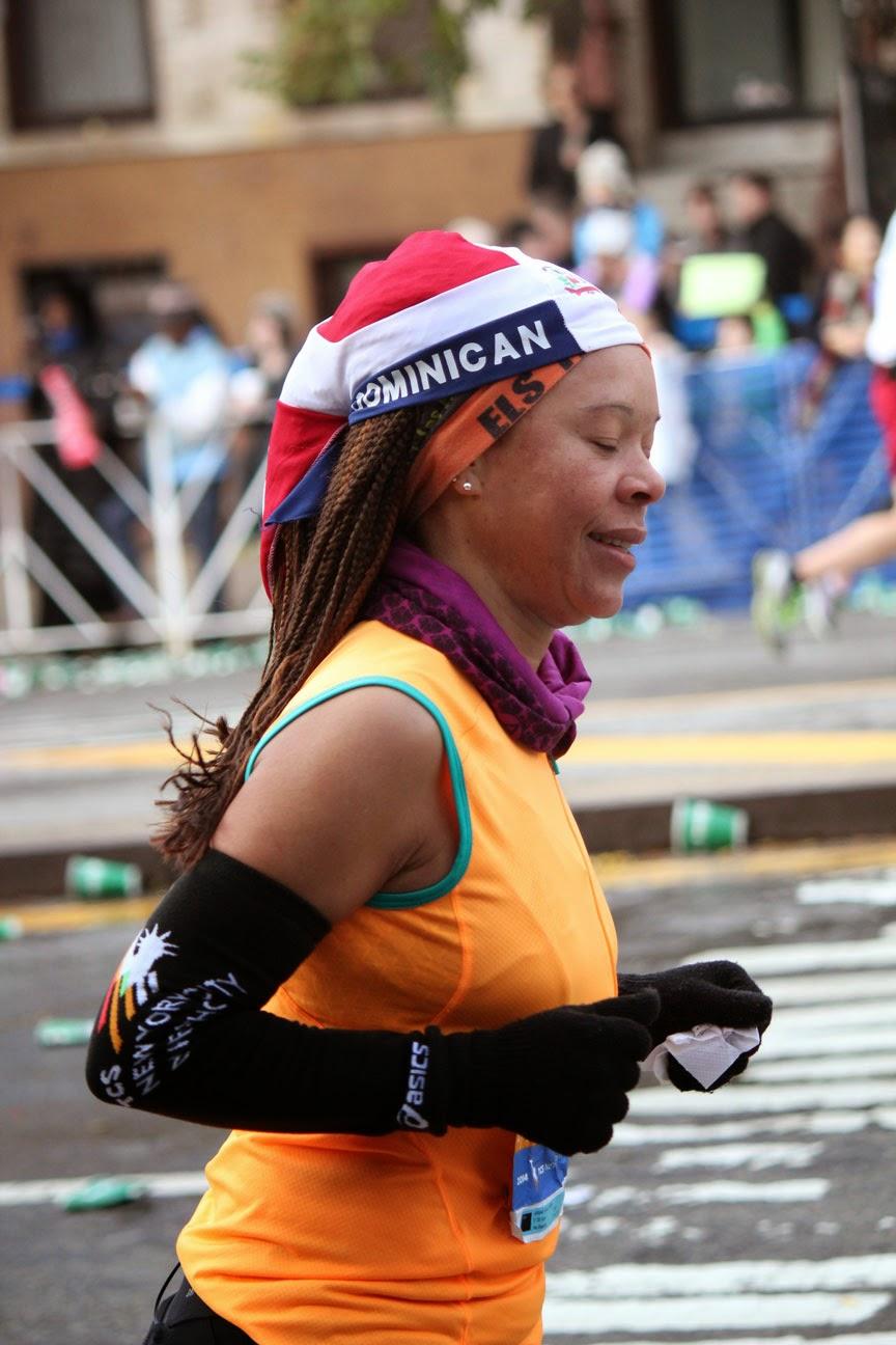 Republica Dominicana en el Maratón de la Ciudad de Nueva York 2014