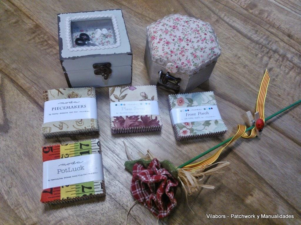 Mini Charm packs en súper oferta para el día de la madre en Vilabors, Patchwork y manualidades en Vilafranca del Penedès