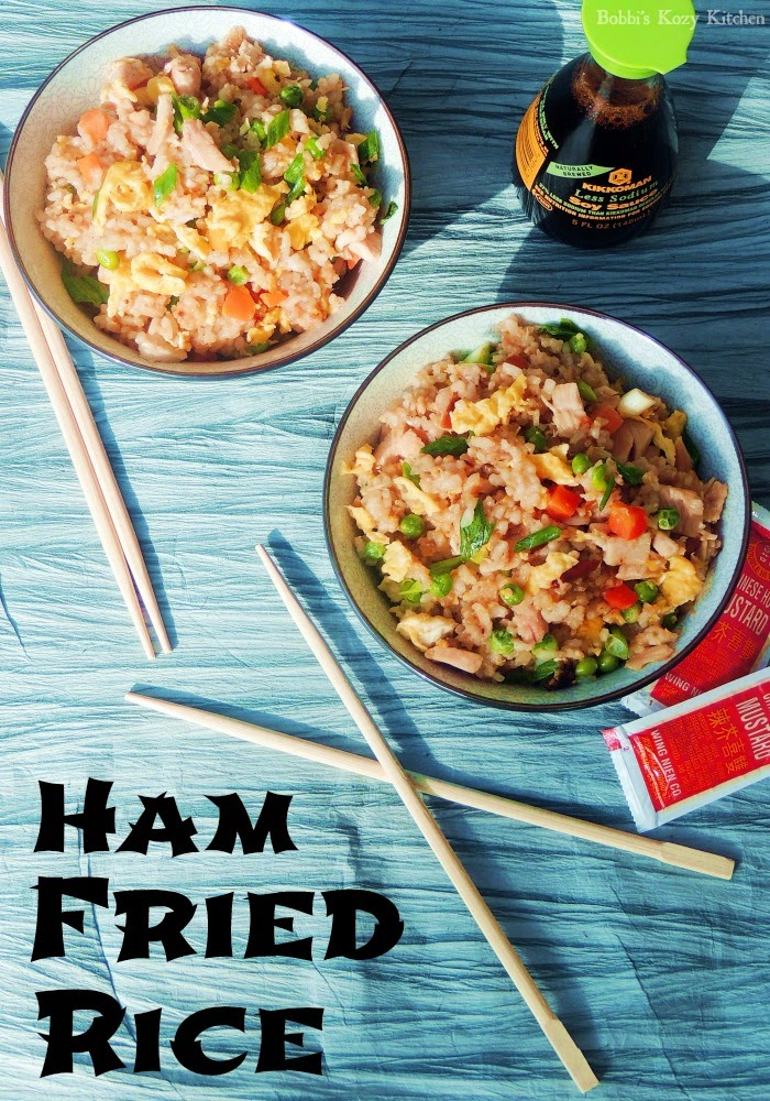 Ham Fried Rice from www.bobbiskozykitchen.com
