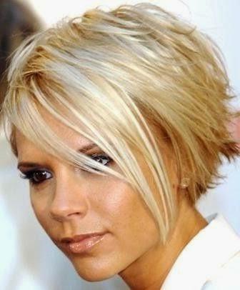 Coupe cheveux carre plongeant destructure coiffures - Coupe court d un cote long de l autre ...