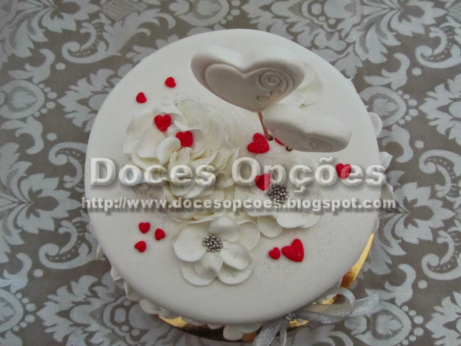 bolo corações amor bragança