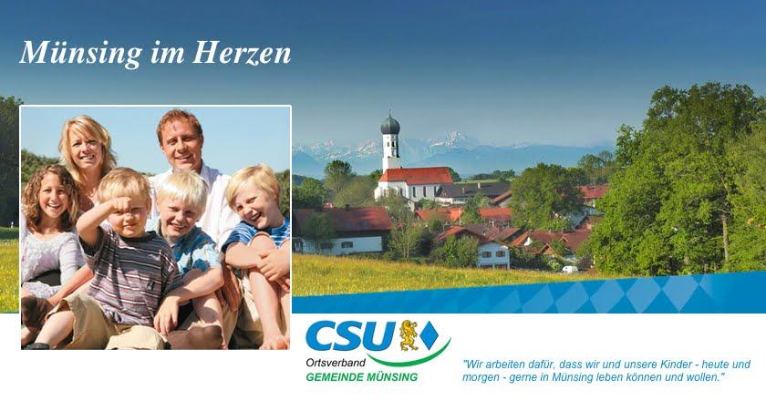 CSU Ortsverband Gemeinde Münsing