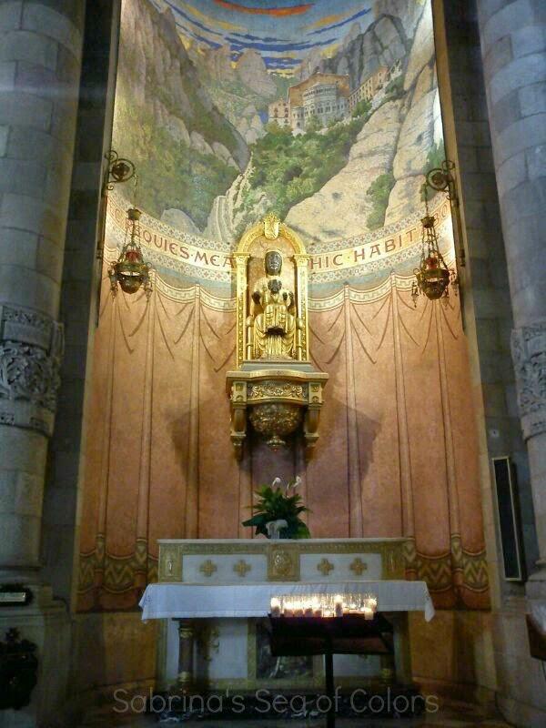Virgen de Montserrat Tibidabo