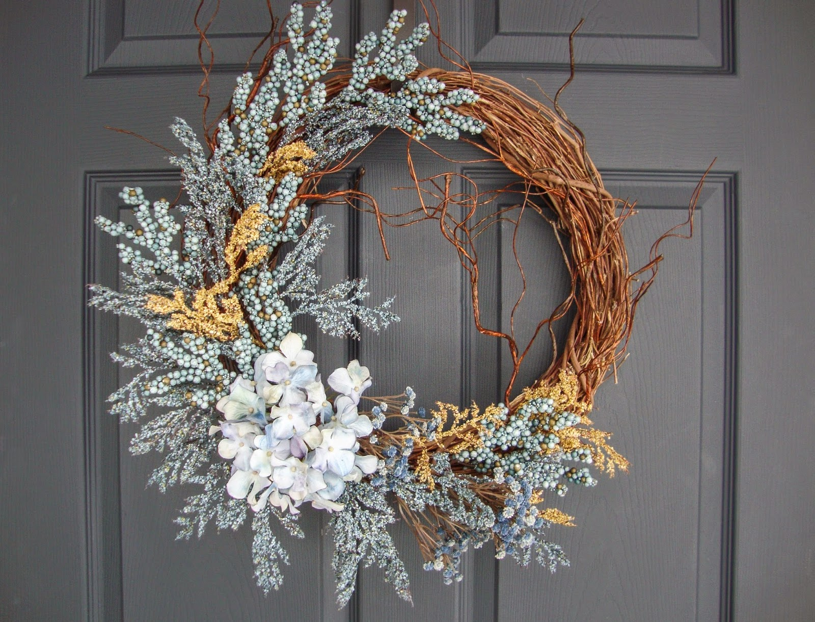 RUSTIC WREATH New Design From HomeHearthGarden