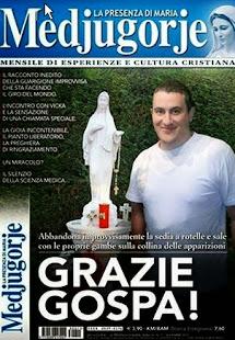 Medjugorje:septembre 2013 Cristian Filice, guéri de la maladie incurable de Lou Gehrig.