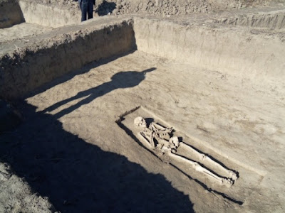 Ancient cemetery unearthed in Bulgaria