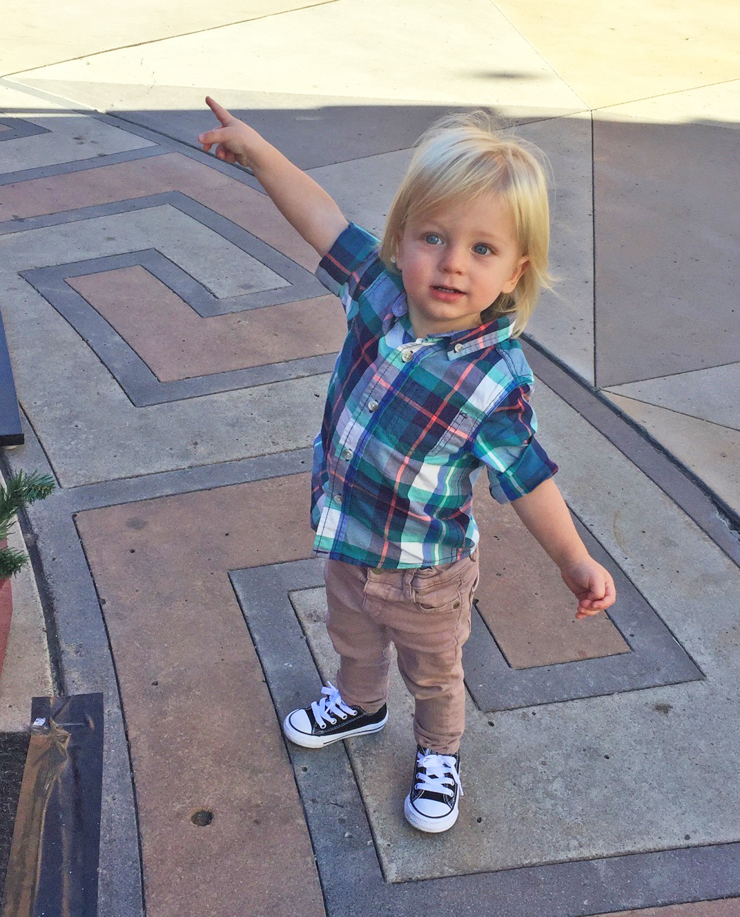 My grandson Dylan