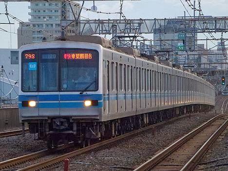 東京メトロ東西線 東葉高速鉄道直通 東葉快速東葉勝田台行き 05系・05系N・15000系(H26.3で廃止)