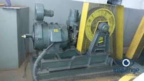 Conjunto Máquina de tração - Elevador