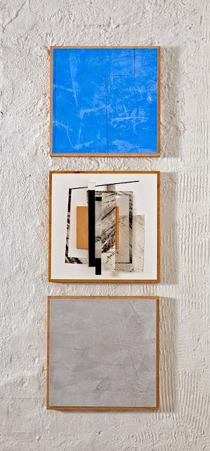 Kuno Lindenmann, O.T. DA 106/A, VAR.1, Bildobjekt mit Spachtelmalerei, 2014