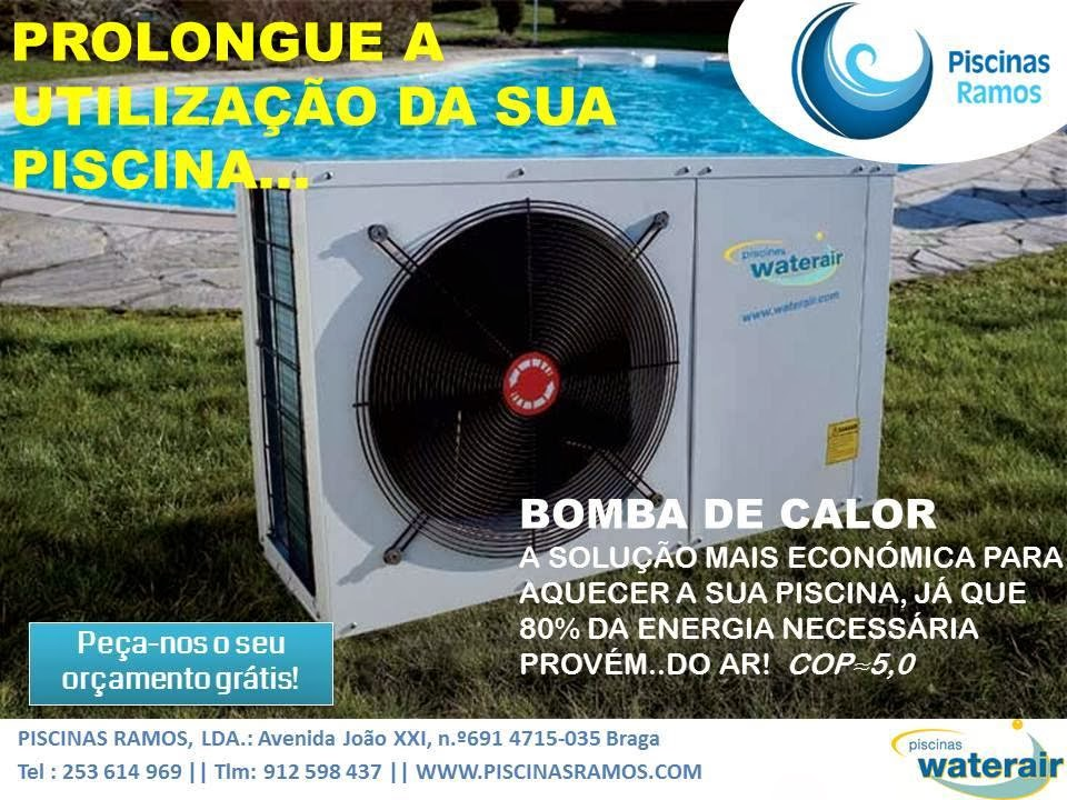 Piscinas ramos piscinas waterair bomba de calor for Bomba de calor piscina