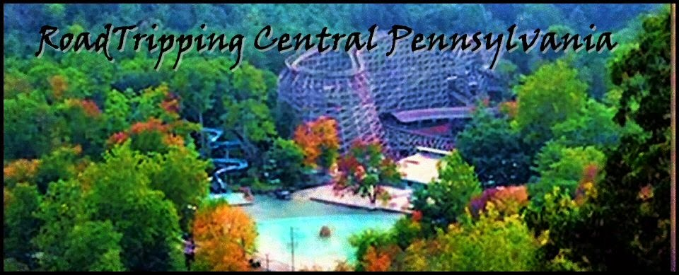 An Aeriall View of Knoebels Amusment Park, Elysburg, PA